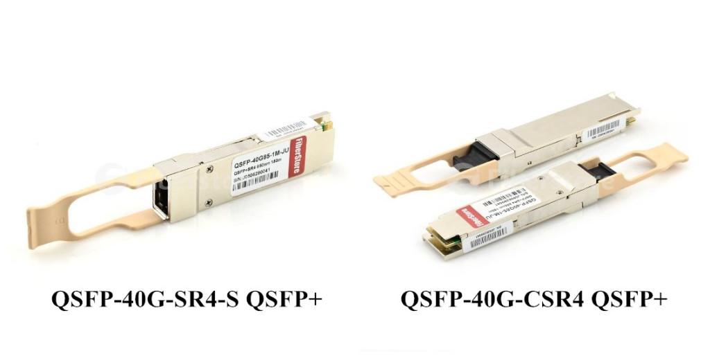 QSFP-40G-SR4-S QSFP+ and QSFP-40G-CSR4 QSFP+
