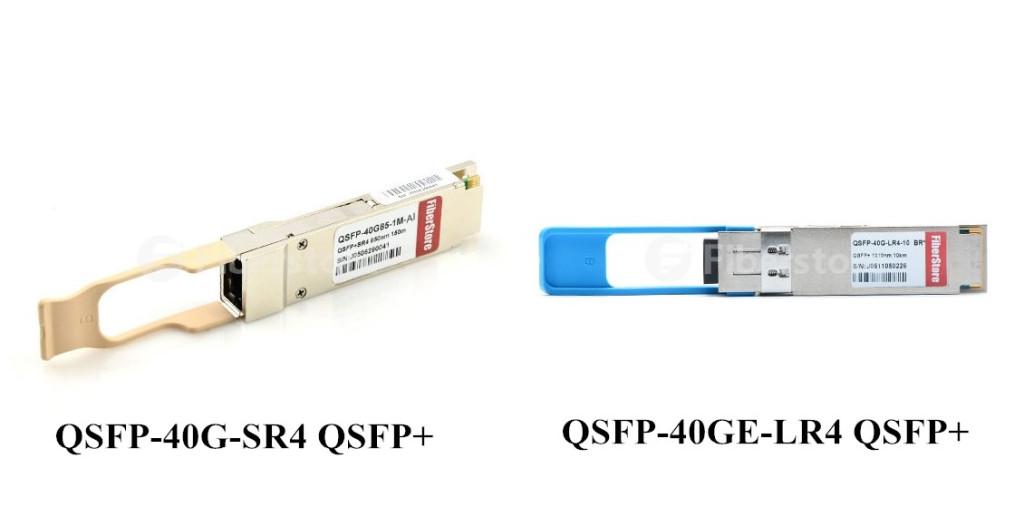 QSFP-40G-SR4 and QSFP-40GE-LR4 QSFP+