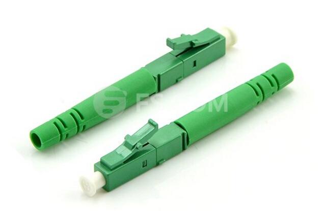 LC fiber connectors