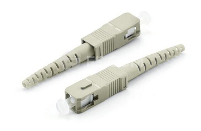 SC fiber connectors